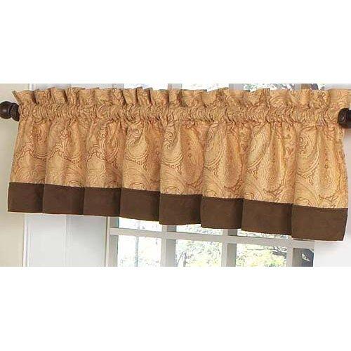 Sweet Jojo Designs Camel Paisley Window Valance   Valance