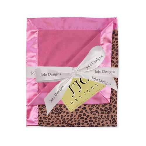 Sweet Jojo Designs Cheetah Pink Baby Blanket   Blanket Cheetah PK