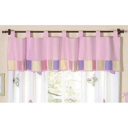 Sweet Jojo Designs Butterfly Pink Purple Window Valance   Valance