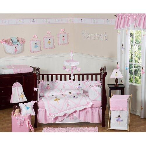 Sweet Jojo Designs Ballerina Crib Bedding Collection   Ballerina