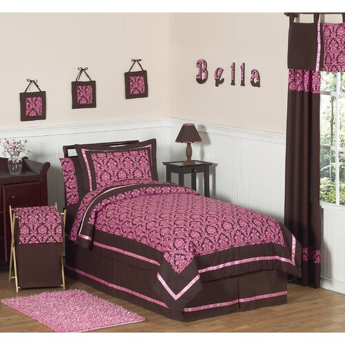 Sweet Jojo Designs Cheetah Pink Kid Bedding Collection   CheetahPink