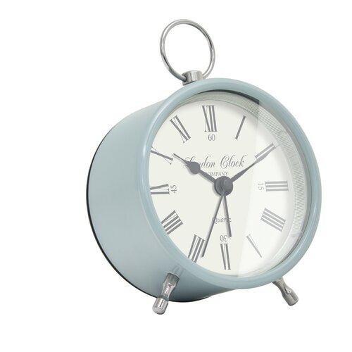Tischuhr Heritage | Dekoration > Uhren > Standuhren | Blau | LC Designs