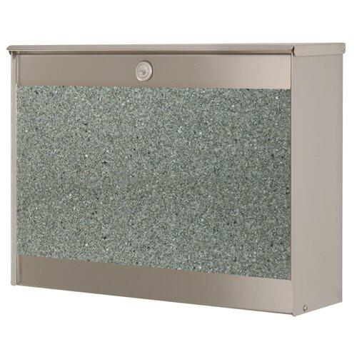 heibimetall briefkasten revisto mit granit 64427 072 ebay. Black Bedroom Furniture Sets. Home Design Ideas