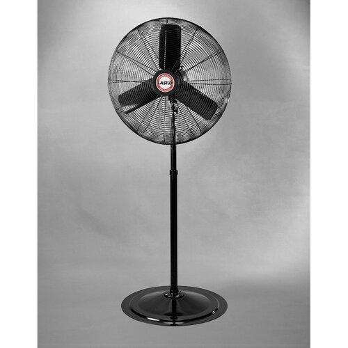 Industrial Pedestal Fans : Lasko quot oscillating industrial grade pedestal fan