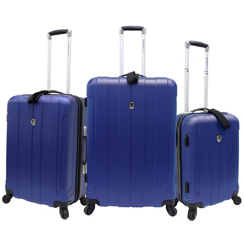 Travelers Choice Cambridge 3 Piece Hard shell Spinner Luggage Set