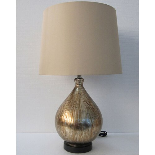 Yosemite Home Decor 1 Light Portable Table Lamp