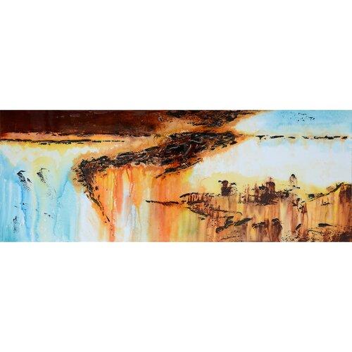 Yosemite Home Decor Precipitous III Wall Art   47 x 18