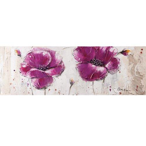 Yosemite Home Decor Purple Burst II Canvas Art   YA100125B
