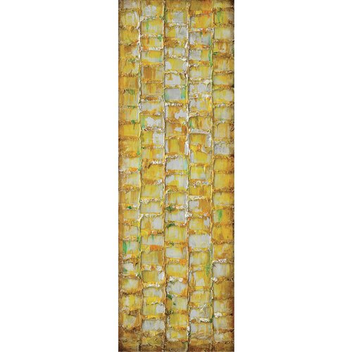 Yosemite Home Decor Primary Textures VI Wall Art   12 x 35