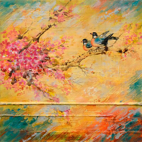 Yosemite Home Decor Robins Rest Wall Art   39 x 39   FCE DF1071