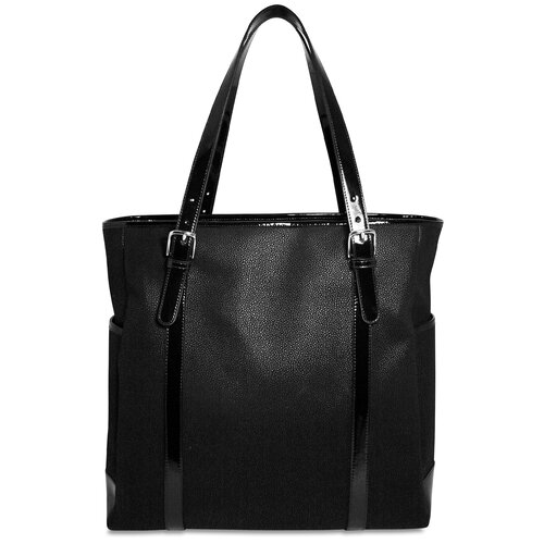 Jack Georges Nevada Patent Large Satchel NP5921 |Jack Georges