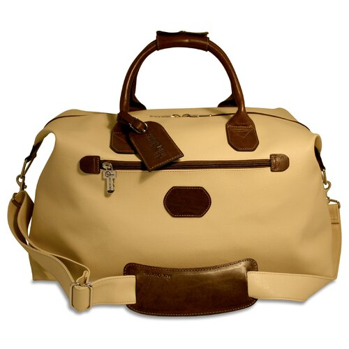 "Jack Georges Lugano 19"" Leather Carry-On Duffel"