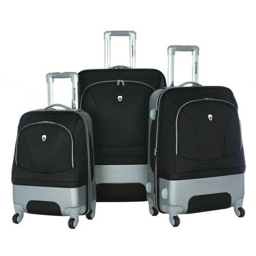 Olympia Majestic 3 Piece Expandable Luggage Set   HF 7300 3
