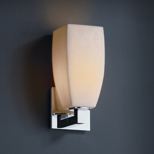 Justice Design Group CandleAria Modular One Light Wall Sconce   CNDL