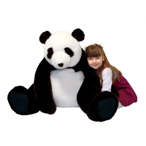 Melissa And Doug Giant Panda Bear Plush Stuffed Animal On Popscreen