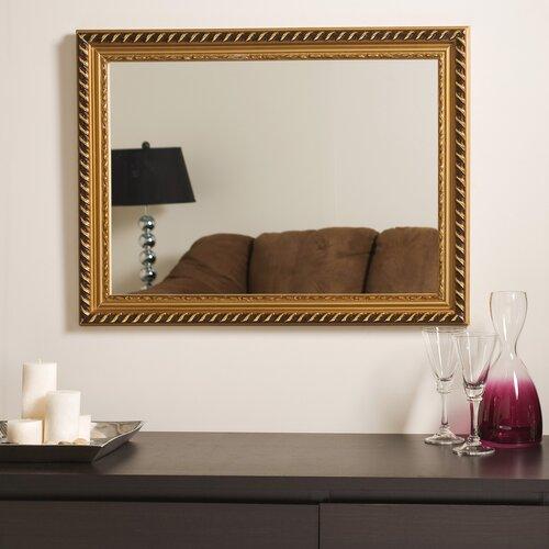 Decor Wonderland Marina Gold Framed Wall Mirror
