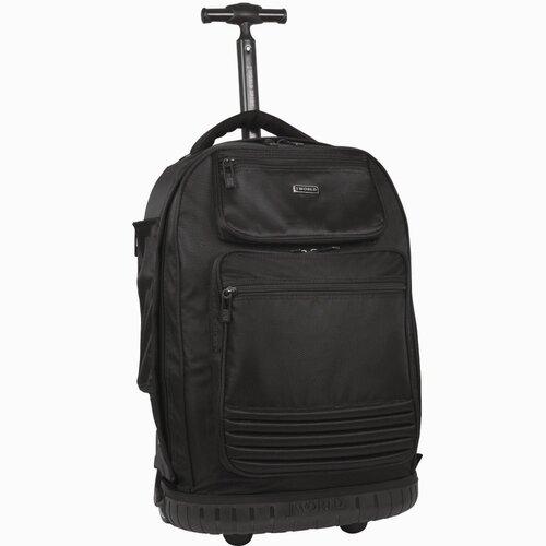 World Sunset 18 Multi Pocket Rolling Backpack   RBS 218