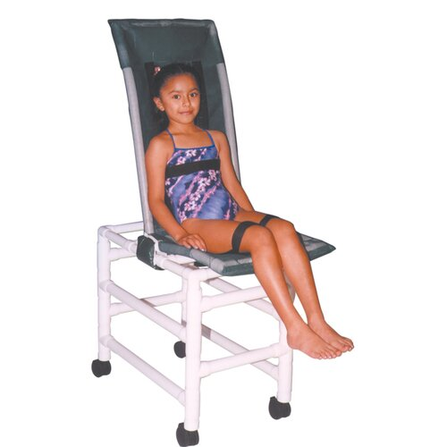 MJM International Articulating Bath Chair and Optional Accessories