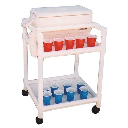 MJM International Echo Hydration Cart with Ice Chest
