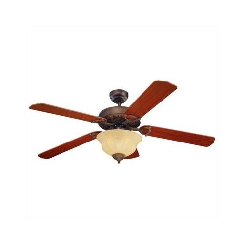 Monte Carlo Fan Company 52 Ornate 5 Blade Ceiling Fan   5OR52EPD