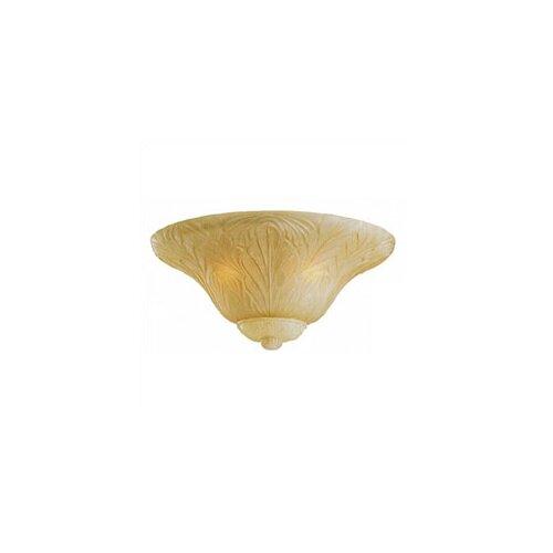 Monte Carlo Fan Company Three Light Leaf Bowl Ceiling Fan Light Kit