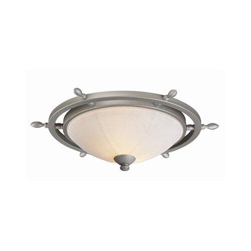 Monte Carlo Fan Company Ship Wheel Ceiling Fan Light Kit