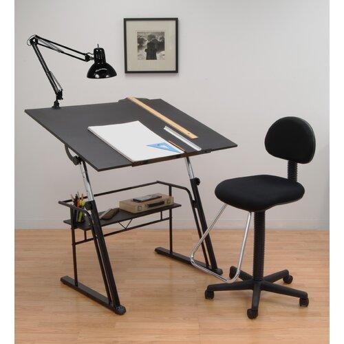 Studio designs zenith drafting table set ebay - Drafting table designs ...