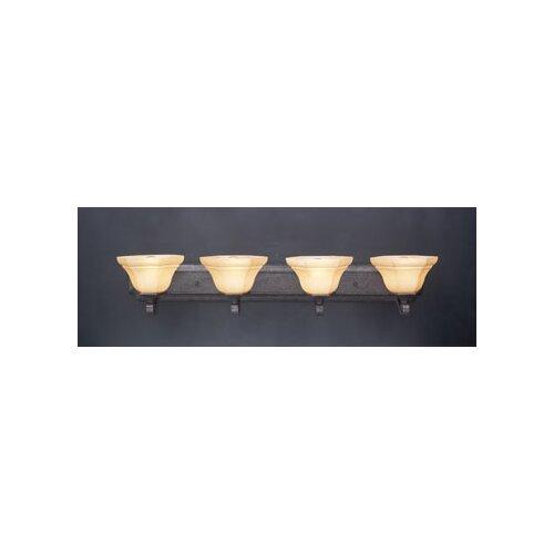 Kenroy Home Welles Vanity Light in Oil Rubbed Bronze   80473ORB