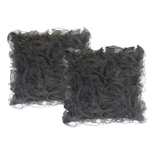 Veratex Kim Pillow in Black (Set of 2)