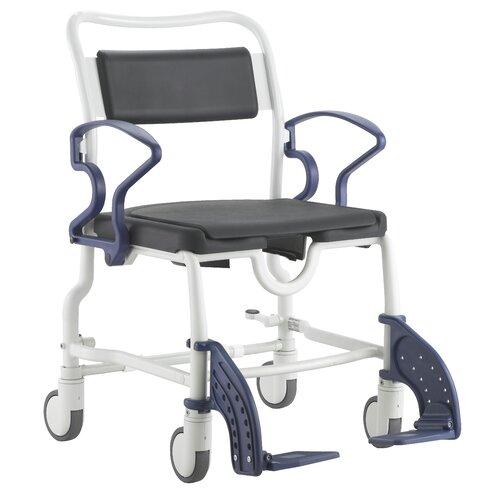 MJM International Reclining Shower Chair with Leg Extension   193