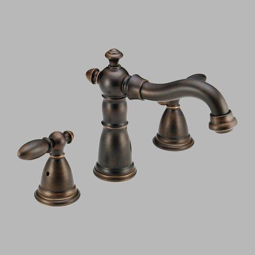 Delta Victorian Double Handle Deck Mount Roman Tub Faucet Trim