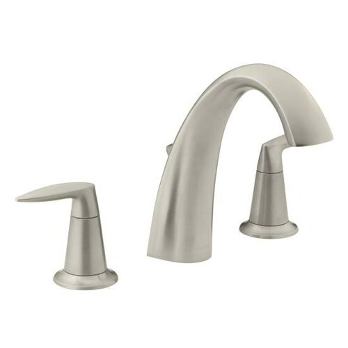 Kohler Alteo Double Handle Deck Mount Tub Only Faucet with Diverter