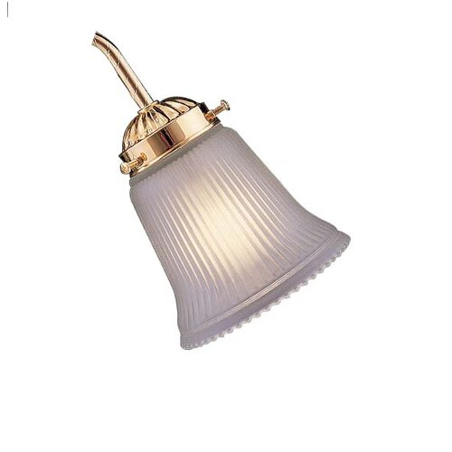 Neck Frosted and Ribbed Glass Shade for Ceiling Fan Light Kit   2010
