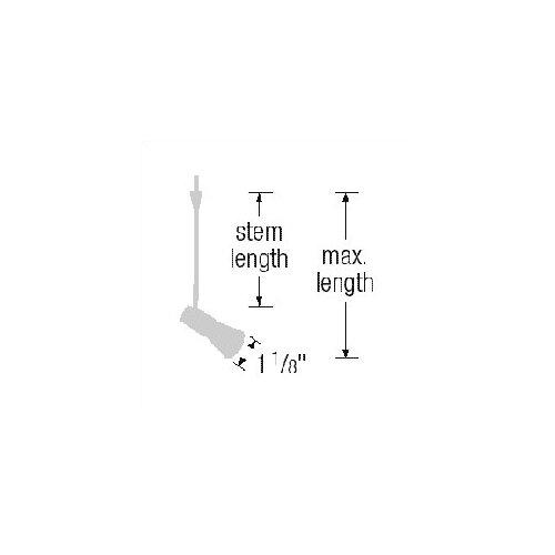 WAC Quick Connect Mini Track Lighting Fixture   QF 195X xx