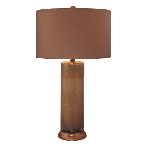 Warehouse Of Tiffany Mission Style Lighted Base Table Lamp On Popscreen