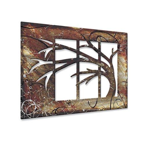 Walls Abstract Tree by Ash Carl Metal Wall Art   23.5 x 60