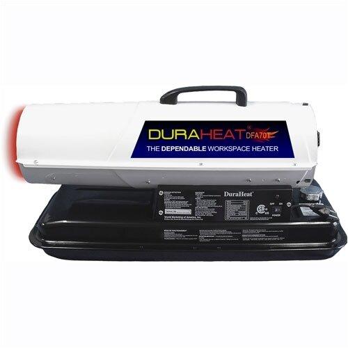 World Marketing DuraHeat 70,000 BTU Portable Kerosene/Forced Air