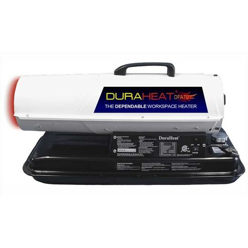 World Marketing DuraHeat 70,000 BTU Portable Kerosene/Forced Air