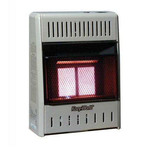 10,000 BTU Infrared Wall Space Heater
