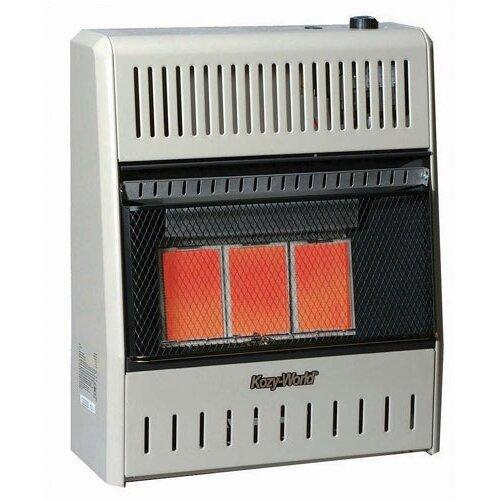 18,000 BTU Infrared Natural Gas Wall Space Heater