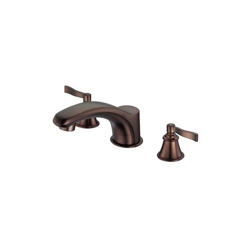 Danze Double Handle Deck Mount Aerial Roman Tub Faucet Trim