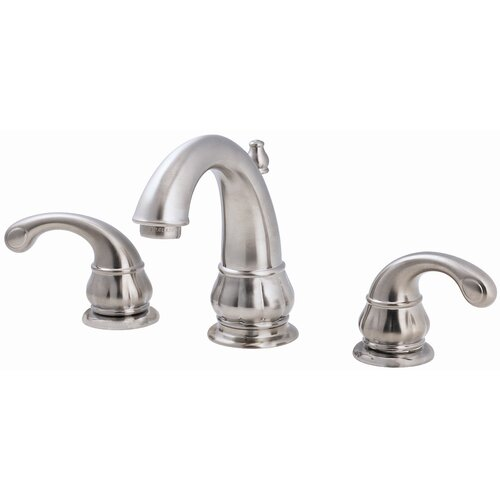 Price Pfister Treviso Widespread Bathroom Faucet with Double Lever