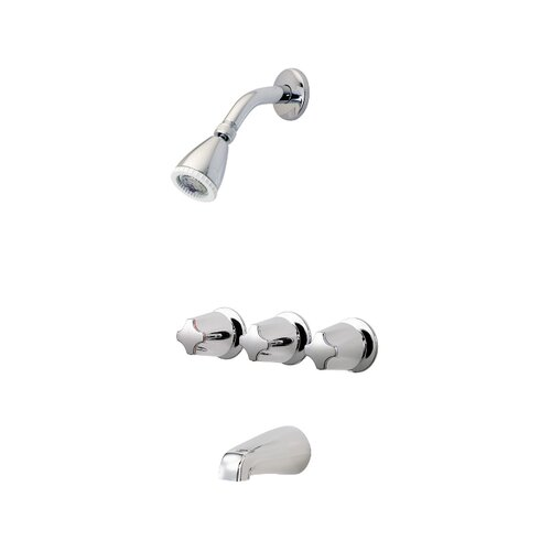 Price Pfister Three Thermostatic Tub and Shower Faucet