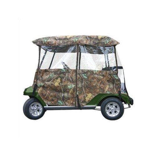 Classic Accessories Deluxe Camo Golf Cart Enclosure
