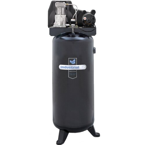 Powermate 60 Gallon Oil Lubricated Belt Drive Industrial Air