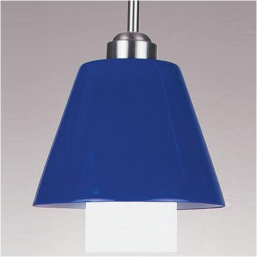 Philips Forecast Lighting Cone Shaped Glass Mini Pendant Shade in