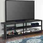 Oxima EZ TV Stand Width of TV Stand: 20'' H x 73'' W x 16.75'' D