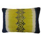 Bright and Fresh Sheesha Cotton Lumbar Pillow Color: Lime