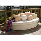 Demi-Lune Outdoor Platform Bed Finish: Sea Sand
