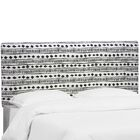 Dillon Upholstered Panel Headboard Size: Twin